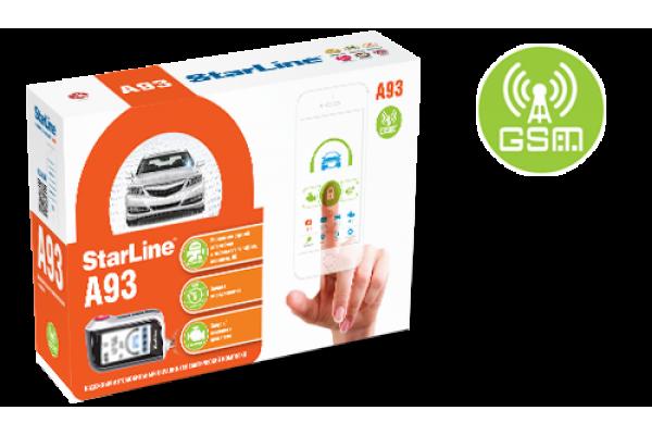 Автосигнализация StarLine A93 2can2lin+GSM