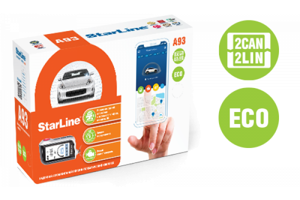 StarLine A93 2CAN+2LIN ECO