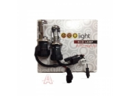 Комплект би-ксеноновых ламп EGOLIGHT H4-H/L, 2шт + проводка (3000k, 4300k, 5000k, 6000k)